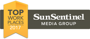 Sun Sentinel Top Workplaces Award 2017 Kaufman Lynn Construction Wins Again