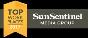 Sun Sentinel Top Workplace Winner 2017