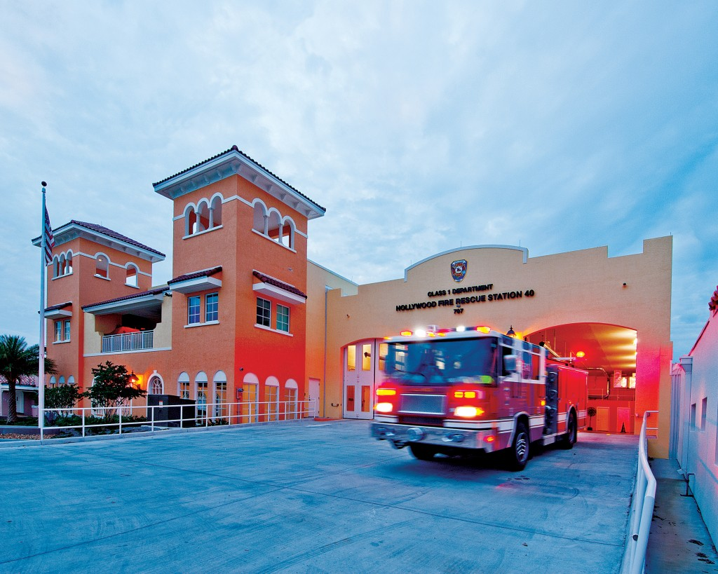 Hollywood Fire Rescue Amp Beach Safety Complex Kaufman