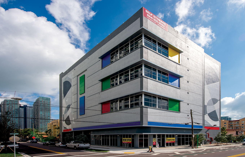 Miami City Self Storage Sw 3rd Ave Kaufman Lynn Construction