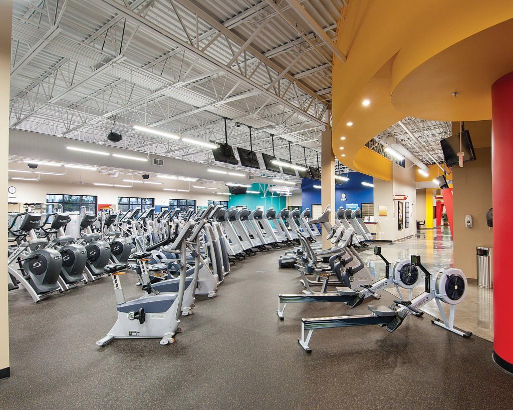 Main exercise room J-Peg