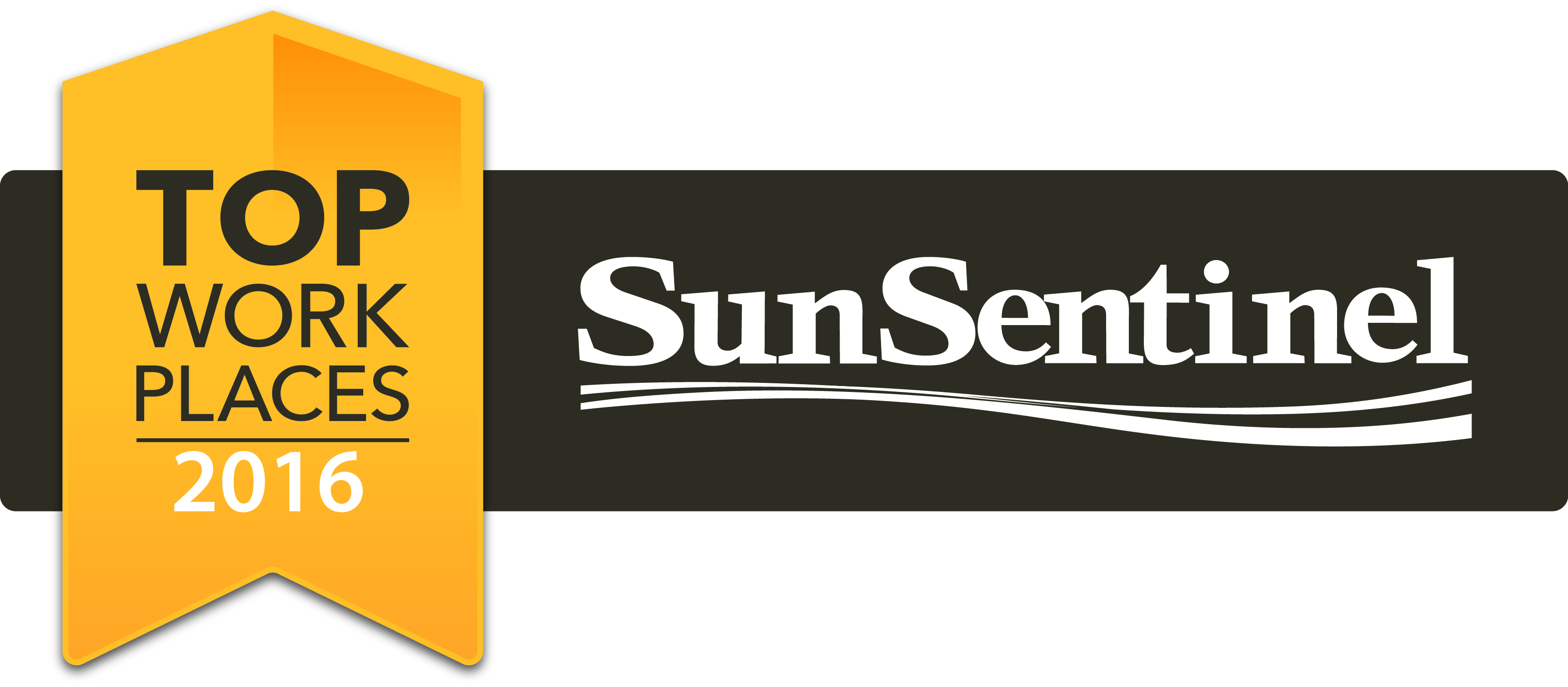 Sun Sentinel Top Places To Work Award