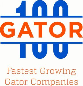 The Gator100 honors the 100 fastest-growing, Gator-owned or Gator-led businesses in the world.