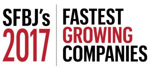South Florida Business Journal 2017 Fastest Growing Companies Award Ranking 11