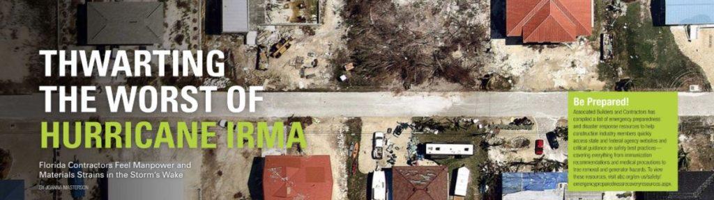 Thwarting the worst of Hurricane Irma
