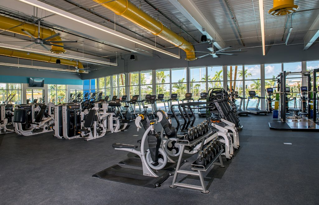 Gym Feature Web