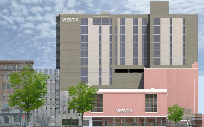 Westin Greensboro Rendering 1